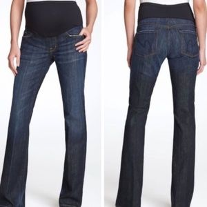 "COH | ""A Pea in the Pod"" denim maternity jeans"